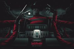 Nightmare on Elm Street Poster by Matt Tobin