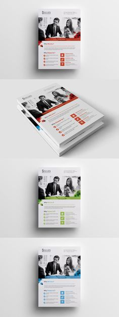 Business Flyers Templates Bundle Ai Eps Indd Psd A5 Us Half