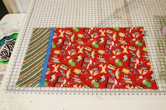 Pillowcase Tutorial – Quilted Works