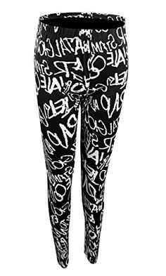 24a5ac8b25e Diamondkit Women s Leggings Fashion Print Leggings Tights for Plus Size  Slim Pants (OneSize