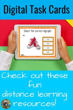 Students love these Boom digital task cards! We have also included a teacher guide with parent tips on what they can do at home. #distancelearning#homeschool