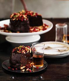 Chocolate Mousse Tart / Shane Delia