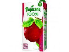 TROPICANA JUICY APPLE 1L