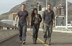 Philip Winchester, Rhona Mitra & Sullivan Stapleton | Strike Back (P.S. I have a separate Phil board now... :) http://www.pinterest.com/natalie2plus3/philip-winchester/)