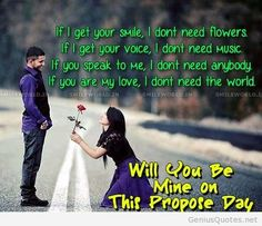 love quotes to propose a girl