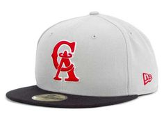 Los Angeles Angels of Anaheim New Era 59Fifty MLB Cooperstown Hats