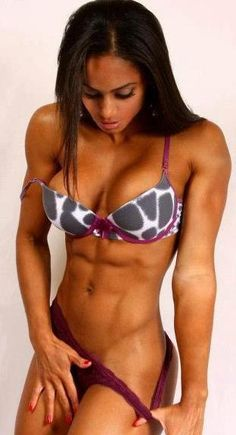 Fit black females athletes | denise rodriguez # black fitspo # fitness # fitspo http://www.imuscletalk.com/