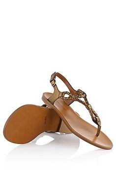 Romeinse sandalen ´Tristyn-L` van kalfsleer door BOSS Orange