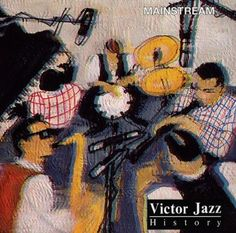 1997 Victor Jazz History Vol.17: Mainstream [RCA 74321357362] cover painting by Alice Choné #albumcover