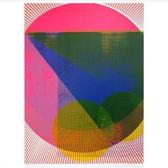 A dazzling, nine-layer tranche of geo-psych joy, 'Spring Breaker' x 70 cm, edition of is a limited edition print by silkscreen superstar, Kate Gibb (made exclusively for Print Club London). Tomie Ohtake, Silk Screen Printing, Art Design, Print Artist, Graphic Design Inspiration, Printmaking, Abstract Art, Illustration Art, Art Prints