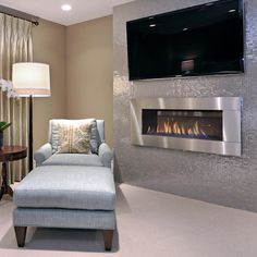 Fireplace tv on pinterest electric fireplaces built in electric fireplace and wall mounted for Electric wall fireplace bedroom