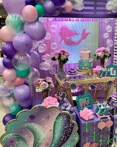 18 Ideas for party girl themes little mermaids Mermaid Theme Birthday, Little Mermaid Birthday, Little Mermaid Parties, Girl Birthday, Birthday Party Decorations, Party Themes, Birthday Parties, Party Ideas, Birthday Ideas