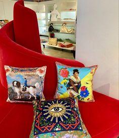 New stunning design by french extravagant designers Mouchkine Paris Luxury Branding, Branding Design, New Chic, Velvet Cushions, Trendy Home, Kitsch, Interior Decorating, Designers, Wall Decor