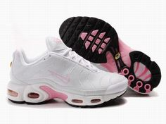 75482acb9856 Discover the Womens Nike Air Max TN White Pink Authentic collection at  Pumacreeper. Shop Womens Nike Air Max TN White Pink Authentic black