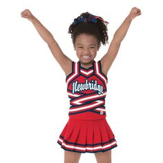 cca0e068be3 Take a look at this little girls high V. Jackie Stroud-Painter · Cheerleading  uniforms