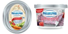 More fruits and veggies in their cream cheese? Way to go PHILADELPHIA!  #lovemyphilly #ad