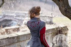 Celtic knot cutouts - costume by Armstreet.