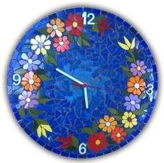 Mosaic Garden Art, Mosaic Tile Art, Mosaic Artwork, Mosaic Crafts, Mosaic Furniture, Fancy Watches, Cross Art, Art Of Glass, India Art