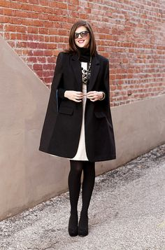 What I Wore: Caped Crusader - DKNY Vogue 1322