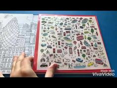 London colouring &rub down transfers Usborne Colouring, Coloring Books, Made With Vivavideo, London, Coloring Pages, London England, Coloring Book