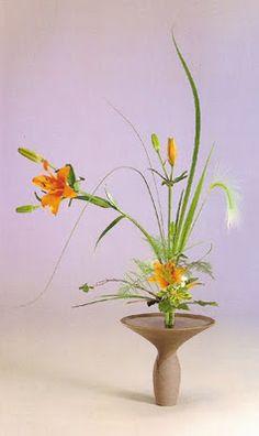 JUDO Club de Faches : Un peu de douceur : Ikebana, art floral japonais
