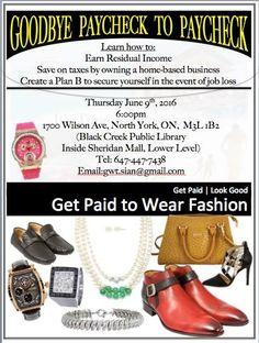 NEW YORK get ready to Get Paid to Wear Fashion!!! Get Paid and