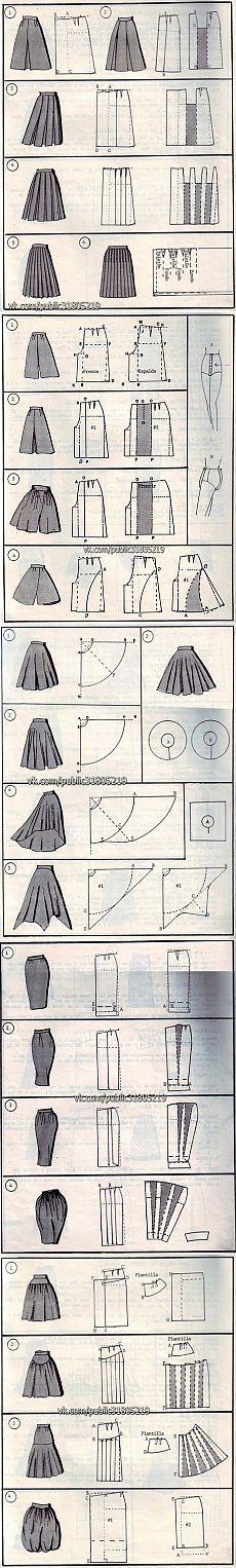 37 способов сшить юбку.