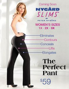 The Perfect Pant.....NYGARD SLIMS are in stock