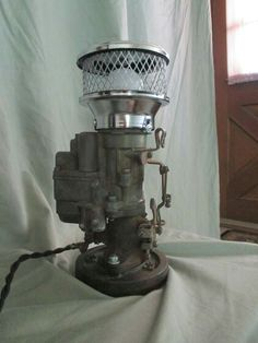 Single carburetor lamp