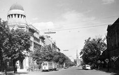 Utca, Street View, History, Retro, Historia, Retro Illustration