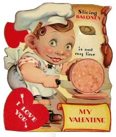 We all secretly hope for an awesomely creepy Valentine card.