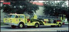 San Antonio Fire Department American LaFrance Ladder Trucks