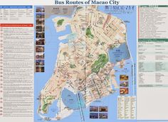 Mapas y planos de Macao