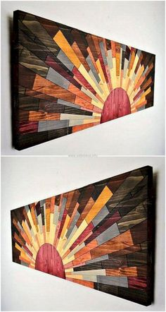17 Coolest Wood Wall Decorations www.futuristarchi& 17 Coolest Wood Wall Decorations www.futuristarchi& The post 17 Coolest Wood Wall Decorations www.futuristarchi& appeared first on House. Pallet Wall Art, Wood Wall Decor, Wooden Wall Art, Scrap Wood Art, Wood Wall Design, Pallet Walls, Rustic Wall Art, Rustic Room, Room Decor