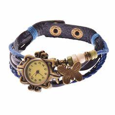 Nuevos relojes de cuero con mariposas  Dale color al otoño con nuestros nuevos colores  POR MENOS DE 10 EUROS  ❗ENVIO GRATIS ❗⬇ #RELOJES #COMPLEMENTOS #OUTFIT #TENDENCIAS #BLOGGER #MARIPOSAS #CUERO #BARATO #OFERTA #OTOÑO http://www.misstendencias.com/29-relojes