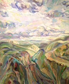 "Elaine Galen (Born 1928), ""Tonto Apache Trail"" - Vero Beach Museum of Art ~ Vero Beach, Florida, USA"