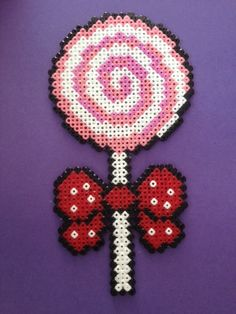 yummy candy lollypop hama beads by TheMissBlue