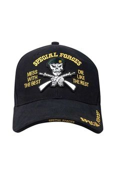 Special Forces Deluxe Low Profile Insignia Cap Us Military f281e9a9b057