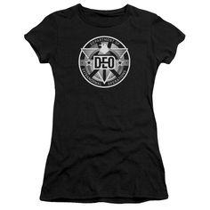 Supergirl TV Show DEO Juniors T-Shirt/Tank Top