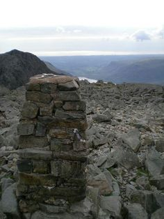 Scafell Pike - Last one of the three peaks we completed Great Places, Places Ive Been, Scafell Pike, Cumbria, Lake District, Travel Guide, Mount Rushmore, England, Adventure