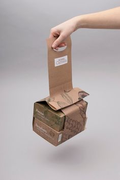 Nonna Carmela (Student Project) on Packaging of the World - Creative Package Design Gallery Takeaway Packaging, Kraft Packaging, Food Packaging Design, Paper Packaging, Coffee Packaging, Packaging Design Inspiration, Packaging Boxes, Chocolate Packaging, Bottle Packaging