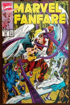 MARVEL FANFARE #50 APRIL 1990 X-FACTOR NEAR MINT CONDITION