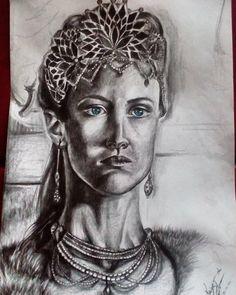 """ . #portreit#draw#drawing#sketch#pencil#queen#art#love#instaart#artwork#instaartwork#blue#eyes"""