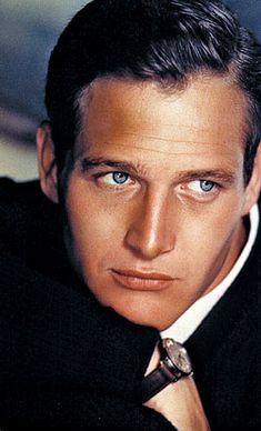 Paul Newman, (beautiful blue eyes)