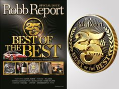Highlights from Robb Report's Best of the Best 2013 Luxury Portfolio