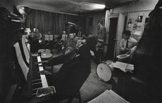 Eugene Smith. T Monk rehearsall Town Hall concert 1959