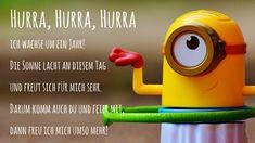 Hurra, Hurra, Hurra ich wachse um ein Jahr! Hier noch mehr #Einladungstexte für #Kindergeburtstag