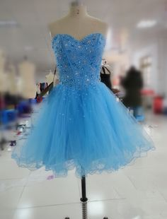 blue short prom dress, #prom, #sparkle, #homecoming
