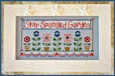 Star Spangled Garden  Designer Name:  Country Cottage Needleworks