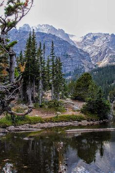 Rocky Mountain National Park. Colorado.